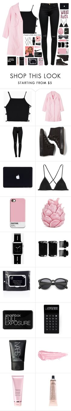 """Little do you know"" by untake-n ❤ liked on Polyvore featuring Carven, J Brand, Keds, Kiki de Montparnasse, Zara Home, Fujifilm, Casetify, T3, Dunn and Smashbox"