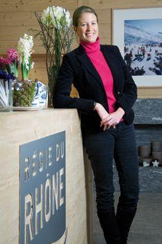 Comment rebooster l'immobilier en Valais. Catherine Dubey, directrice de Regie du Rhône. © Darrin Vanselow