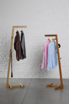 The Penguin shirt stand (Der Pinguin Hemdstand) give a vintage look for your home decor, It Comes in 2 different sizes & can be used for hanging clothes, etc. Checked it out now. Hygee Home, Hygge Home Interiors, Wood Furniture, Furniture Design, Hanger Stand, Creation Deco, Rack Design, Diy Home Decor On A Budget, Wood Design