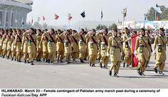 Girls in Pakistan Army   Girls in Pakistan Army...!