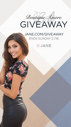 Enter the Very Jane #Sweepstakes to Win PayPal cash, Shop Credit, and fun prizes! Ends 2/7.