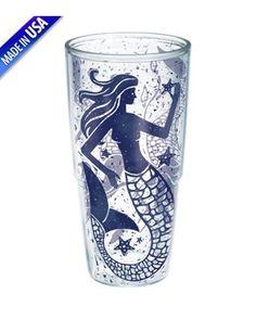 Tervis Mermaid Tumbler $17.99 www.mermaidhomedecor.com - Mermaid Mugs & Glasses
