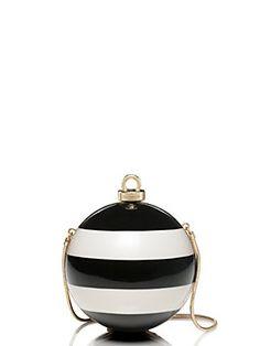 stripe ornament clutch by kate spade new york