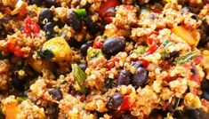 15-Minute Quinoa Fried Rice Recipe - Her Highness, Hungry Me Paleo Pizza, Healthy Ground Beef, Ground Beef Recipes, Quick Weeknight Dinners, Easy Meals, Quinoa Burger, Quinoa Fried Rice, Quinoa Dishes, Brunch