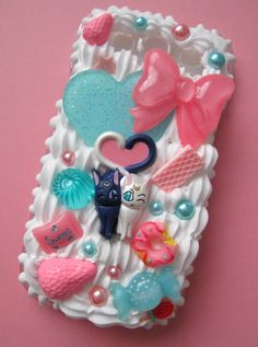 CUSTOM MADE Sailor Moon Whipped Cream Phone Case. $45.00, via Etsy.