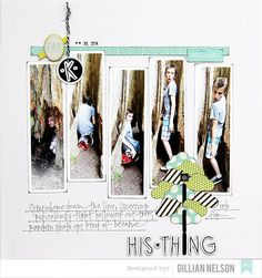 His Thing Layout by Gillian Nelson