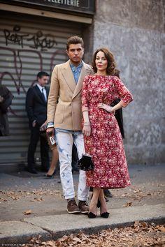 Lace & Tea :: Street Style: Designer Ulyana Sergeenko