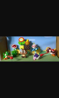 Mario Bross fimo