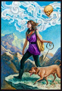 The Fool Tarot card...Carrie Ann Baade