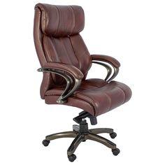 Isso é uma Cadeira Presidente Top Marrom Dourado Fullway - 125x77cm Compre aqui: www.carrodemola.com.br/produtos/2601/cadeira-presidente-top-marrom-dourado-fullway-125x77cm
