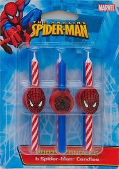 DecoPac 11745 Spider-Man Candles - 6 / BX DecoPac http://smile.amazon.com/dp/B004BTA4PM/ref=cm_sw_r_pi_dp_Ov.5tb0AEDRP1