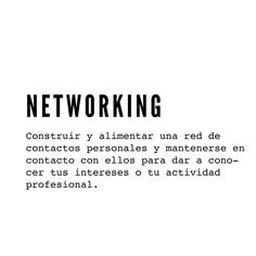 ✔ networking