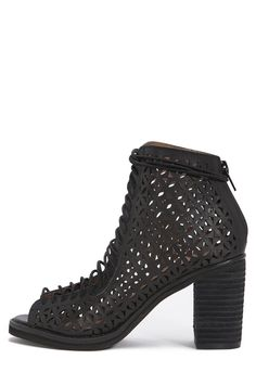 Jeffrey Campbell Shoes CORS-CUT Shop All in Black