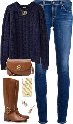 Trend: Oversized sweaters maybe with a collared shirt underneath