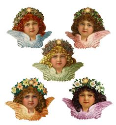 Victorian Angel Quints by SabraKhan, via Flickr