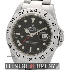 Rolex Explorer IIStainless Steel Black Dial Cal. 3186 M Serial Reference #: 16570