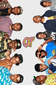OFWGKTA - Tyler, Earl, Jasper, Frank, Left Brain, Taco, Hodgy, Syd, Domo, Mike G and some fag