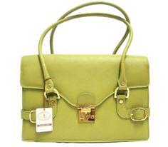 L.A.P.A. Italian Made Green Calfskin Leather « Clothing Impulse