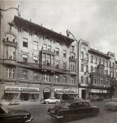 Prague storefronts,by Josef Ehm, 1970