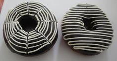 Chocolate Doughnuts - Monochrome D'lites Doughnuts, Monochrome, Bean Bag Chair, Chocolate, Recipes, Decor, Decoration, Monochrome Painting