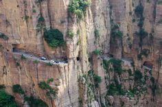 Guoliang Tunnel Road, Taihamg Mountains, China
