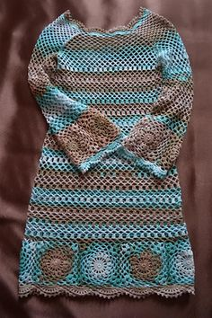 Crochet dress - Free Pattern-image