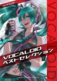 Band Score VOCALOID Best Selection Sheet Music Miku