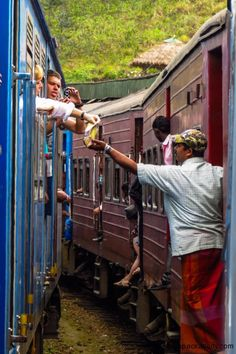 Changing Trains - Sri Lanka