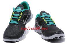 meet 72210 64512 305B41 Anthracite Pure Platinum New Green Reflective Silver Nike Free Run 3  Men s Running Shoes Cheap