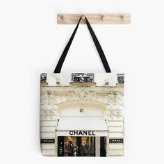 Chanel Tote Bag:  Chanel Paris Store Coco Chanel by ChezLorraines