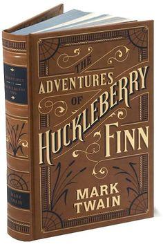The Adventures of Huckleberry Finn (Barnes & Noble Leatherbound Classics Series) Les aventures d'Huckleberry Finn