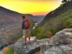 Starr Mountain View, Polk County, Tennessee — by Steven Bledsoe. Starr mountain Etowah, Tennessee. Very steep hike but short