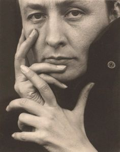 Alfred Stieglitz -- I chose this image for two reasons. I admire the photographer, but I also love his wife and subject, Georgia O'Keefe. I've studied her paintings for many years and even visited her Ghost Ranch home in NM.