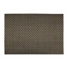 Top ten placemat Sture brown with cut edges from Dixie