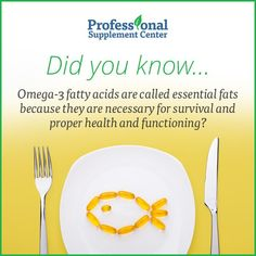 Did You Know Are Essential To Health