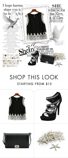 """""""Shein contest"""" by deni982 ❤ liked on Polyvore featuring Chanel and Sur La Table"""