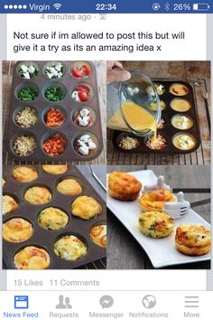 Slimming world quiche Slimming World Recipes Syn Free, Slimming World Quiche, Slimming World Breakfast, My Slimming World, Slimming World Egg Muffins, Mini Quiches, Healthy Eating Recipes, Diet Recipes, Cooking Recipes