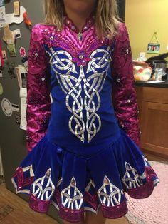 Striking Blue Prime Dress Designs Irish Dance Dress Solo Costume For Sale