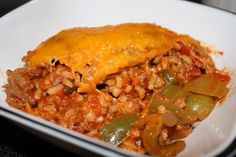 I have made this yummy dinner before I was Gluten Free and only had to make some minor changes to make it Gluten Free! I am such a one dish cooker. If I can put a meat, vegetable, and s...