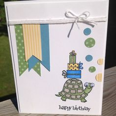 Turtle & Co from Stampin Up...
