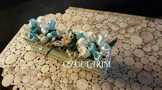 Kokulu taş detaylı dekoratif saksı 05359641765