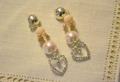 orecchini sposa fatti a mano