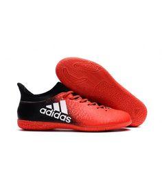 Adidas X 16.3 Indoor fodboldstøvler Orange sort hvid 793e5d88f8608