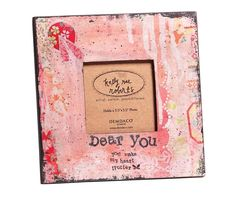Dear You Frame Kelly Rae Roberts Kelly Rae Roberts, 9 Volt Battery, Wireless Home Security, Cute Gifts, Picture Frames, Art Decor, Floral, Crafts, Collection