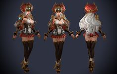 ArtStation - princess Concept Mage, Jaewon Ko Question Mark, 3d Character, This Or That Questions, Concept, Fantasy, Female, Princess, Artwork, Anime