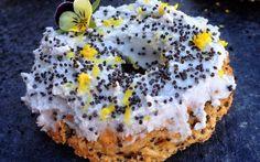 Sugar-Free Lemon Poppy Seed Oat Doughnuts [Vegan, Gluten-Free]   One Green Planet