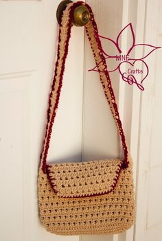 MNE Crafts: The Bermuda Triangle Purse - Free pattern