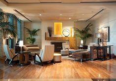 Elegante salotto arricchito da piante