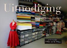 wat maak jij er van: info over veel opleidingen in de mode, interieur, tapijt of textiel: commercieel, productie, ontwerp etc