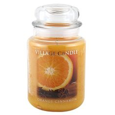 Village Candle Orange Cinnamon Candle, 26-Ounces (Pack of 3) -- Awesome product. Click the image : aromatherapy